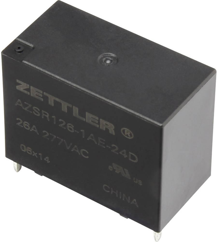 Rele za tiskana vezja 24 V/DC 31 A zapiralni Zettler Electronics AZSR126-1AE-24D 1 kos