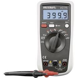 Hånd-multimeter digital VOLTCRAFT VC175 Fabriksstandard CAT III 600 V