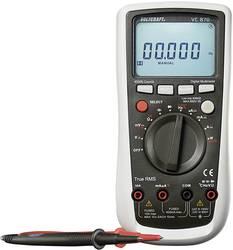 Hånd-multimeter digital VOLTCRAFT VC870 Kalibrering efter: Fabriksstandard CAT III 1000 V, CAT IV 600 V Visning (counts): 40000