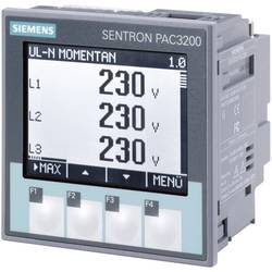 Siemens SENTRON PAC3200 Multifunktions-måleapparat SENTRON PAC3200 Maks. 3 X 690/400 V/AC Indbygningsmål 92 MM x 92 mm