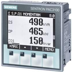 Siemens SENTRON PAC3100 Multifunktions-måleapparat SENTRON PAC3100 Maks. 3 x 480/277 V/AC Indbygningsmål 92 MM x 92 mm