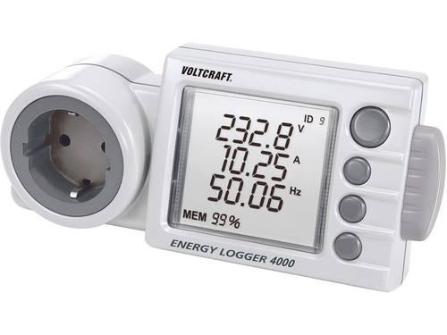 VOLTCRAFT ENERGY-LOGGER 4000 Energiekostenmeter Instelbaar stroomtarief, Kostenprognose