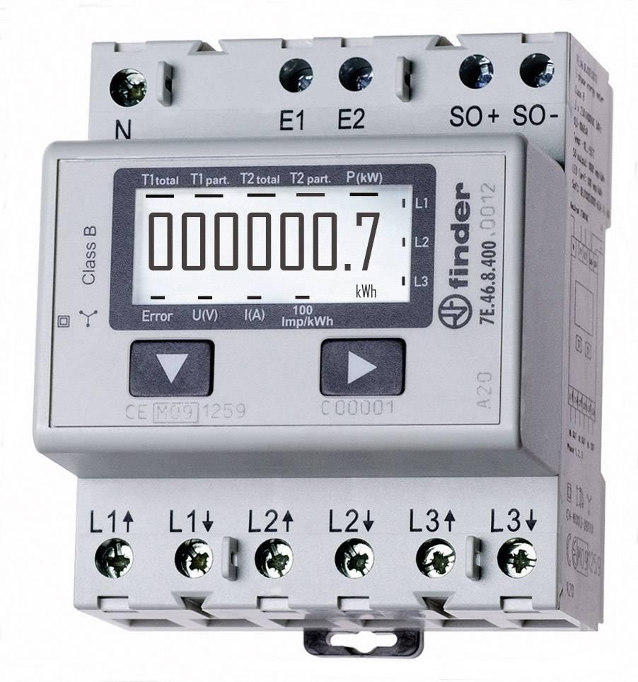Finder 7e 46 8 400 0012 Electricity Meter  3