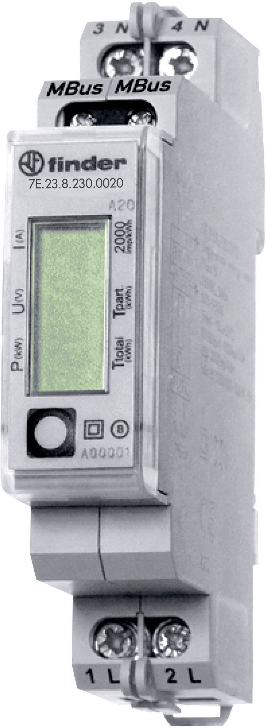 Finder 7E 23 8 230 0020 Electricity meter (AC) Digital 32 A