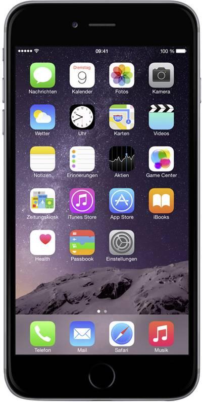 Apple iPhone 6 (refurbished) 11.9 cm (4.7 ) 16 GB 8 MPix iOS 8 Spaceship grey cheapest retail price