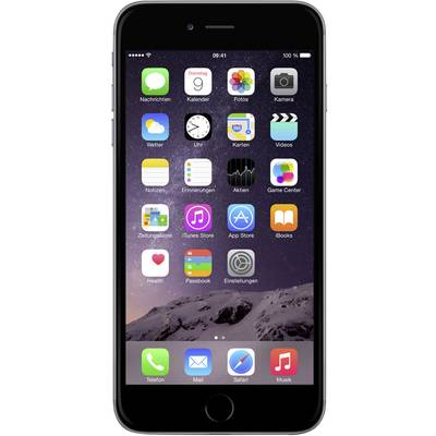 Compare prices with Phone Retailers Comaprison to buy a Apple iPhone 6 (refurbished) 11.9 cm (4.7 ) 16 GB 8 MPix iOS 8 Spaceship grey