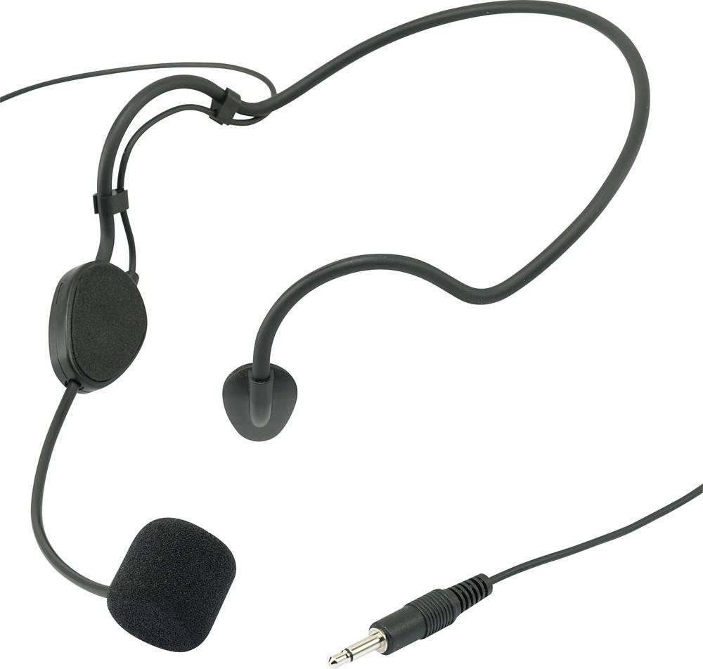 Mikrofon s slušalkami Renkforce CM518