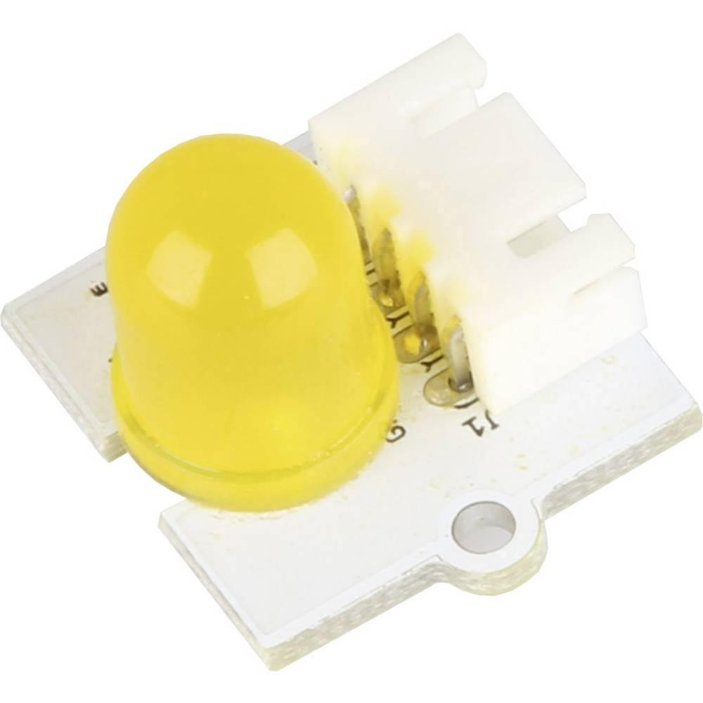 Mini razširitveni modul z rumeno LED za kartični računalnik Raspberry Pi®, 10 mm, LK-Led10-Yel