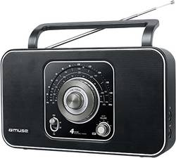 Muse M-068 R, svetovni sprejemnik, prenosni radio, fm, MW, LW, KW, črn