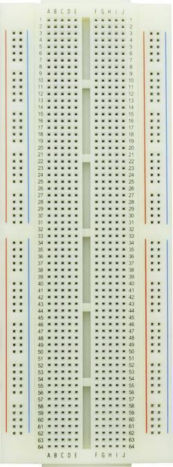 Testna pločica, pokretna, ukupan broj polova: 840 (D x Š x V) 172.7 x 64.5 x 8.5 mm Conrad Components 0165-40-4-27020 1 kom.