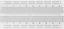 Plošča za tiskano vezje prez spajkanja št. polov skupno 610 (D x Š x V) 124.46 x 57.15 x 8.4 mm Conrad 0165-40-1-33010 1 kos
