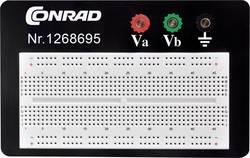 Plošča za tiskano vezje prez spajkanja št. polov skupno 1800 (D x Š x V) 114.3 x 186.2 x 8.4 mm Conrad 0165-40-1-3301B 1 kos