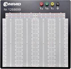 Testna pločica, ukupan broj polova: 3600 (D x Š x V) 186.2 x 228.8 x 8.4 mm Conrad Components 0165-40-1-32044 1 kom.