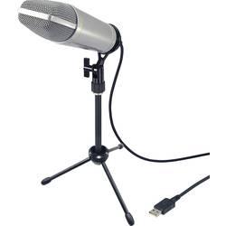 USB-studiemikrofon Renkforce USB-S1 Bredbånd