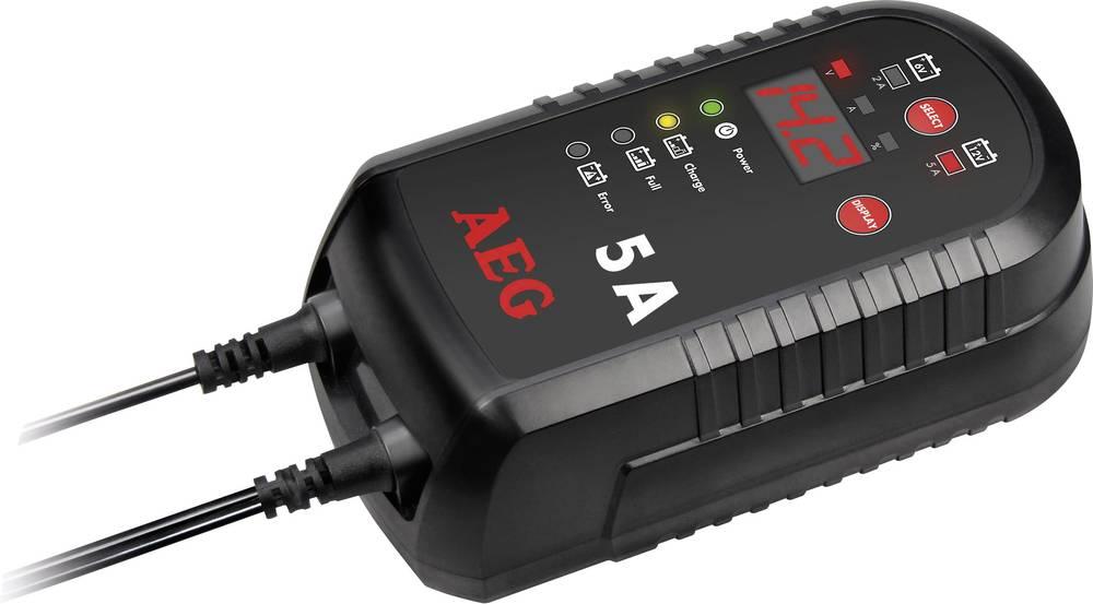 Automatisk oplader AEG LD 5.0 97017 12 V 2.5 A 5 A