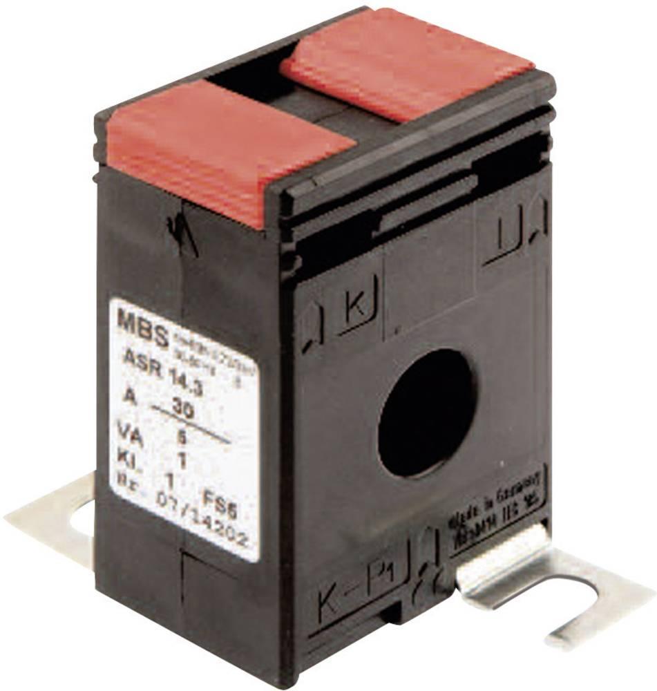 MBS ASR 14.3 75/5A 1,5VA Kl.1 Tokovni pretvornik, primarni tok:75 A sekundarni tok:5 A premer vhoda kabla :14 mm