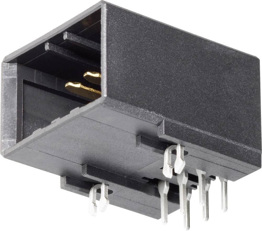 Indbygningsstiftliste (præcision) DYNAMIC 3000 Series Samlet antal poler 6 TE Connectivity 178323-2 1 stk