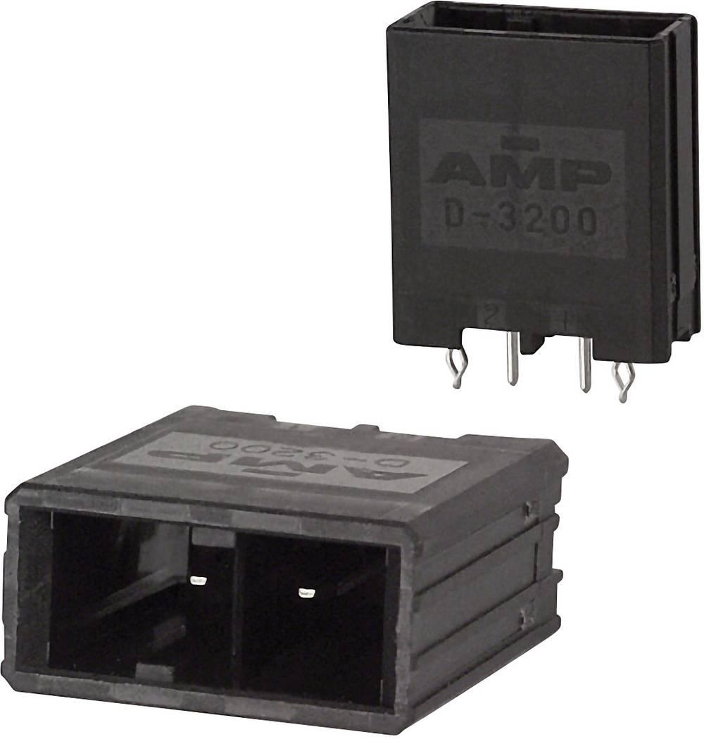 Indbygningsstiftliste (præcision) DYNAMIC 3000 Series Samlet antal poler 3 TE Connectivity 1-178136-2 1 stk