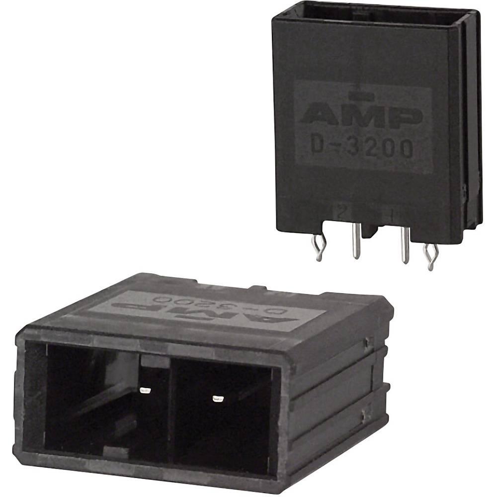 Indbygningsstiftliste (præcision) DYNAMIC 3000 Series Samlet antal poler 2 TE Connectivity 1-917337-5 1 stk