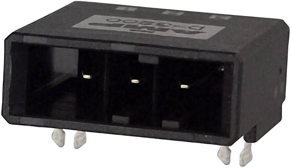 Indbygningsstiftliste (præcision) DYNAMIC 3000 Series Samlet antal poler 6 TE Connectivity 1-316131-2 1 stk