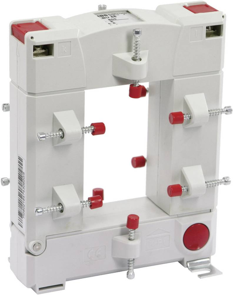 MBS KBU 58 250/5A 1,5VA Kl.1 Tokovni pretvornik, primarni tok:250 A sekundarni tok:5 A premer vhoda kabla :50 mm