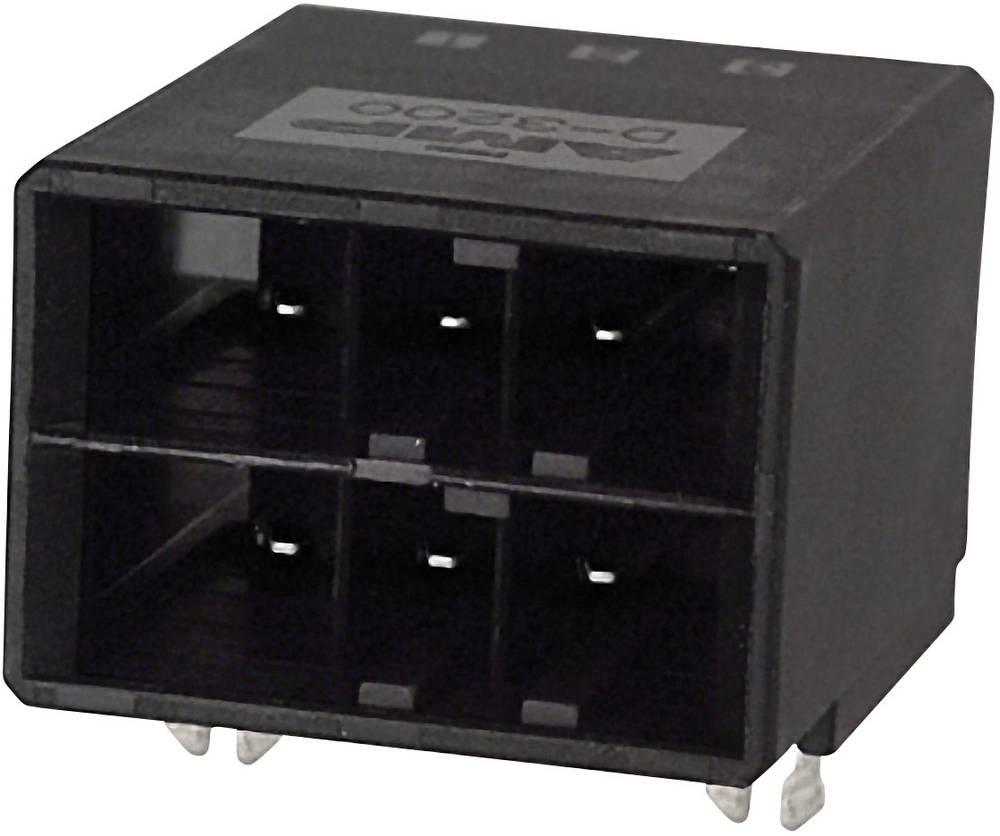 Indbygningsstiftliste (præcision) DYNAMIC 3000 Series Samlet antal poler 12 TE Connectivity 1-316081-5 1 stk