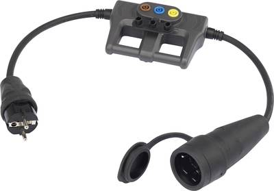 Image of Test lead adapter PG rubber plug - PG rubber connector;VOLTCRAFT;DLA-1L 16