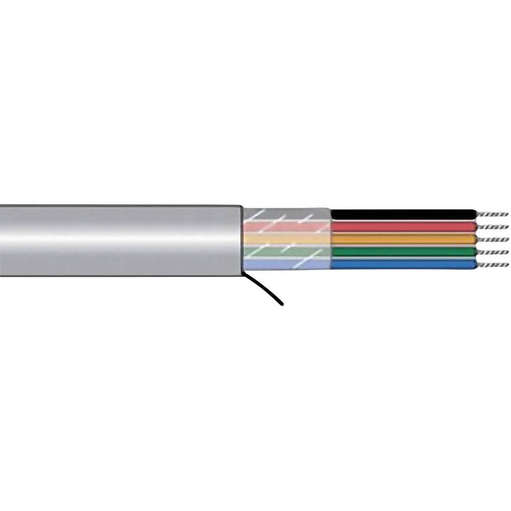Krmilni kabel Xtra-Guard® 1 2 x 0.23 mm Schiefer-sive barve AlphaWire 5012C SL005 meterski