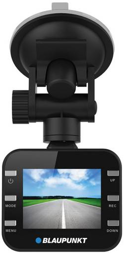 Dashcam Blaupunkt DVR-BP2.0HD Betragtningsvinkel horisontal=120 ° 12 V Display, Batteri, Mikrofon