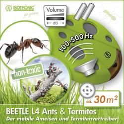 Skadedyrsbekæmpelse; Ultralyd Isotronic Beetle L4 Ameise Virkningsområde 30 m² Grøn 1 stk
