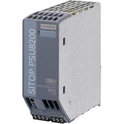 Siemens SITOP PSU8200 24 V/5 A Rail mounted PSU (DIN) 24 V DC 5 A 120 W 1 x