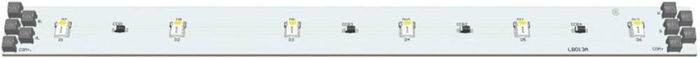 LED modul, RGB, bela 2.88 W 92 lm 120 ° 24 V Barthelme 50752036