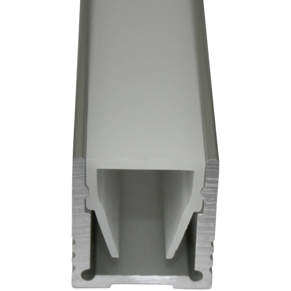 Plastični poklopac LED reflektora, opalno bijela, Barthelme 62399351 1000 mm 15 mm 15 mm