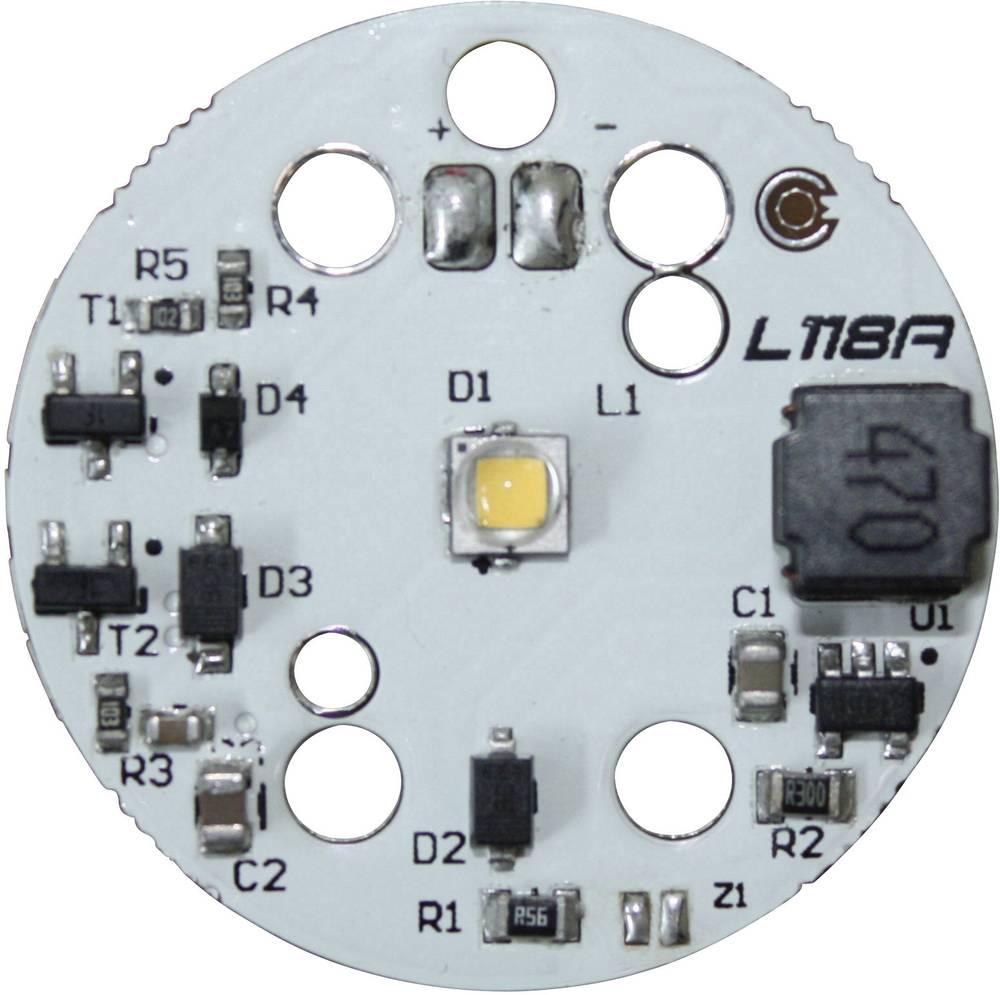 HighPower LED tiskano vezje, topla bela 4.8 W 287 lm 125 ° Barthelme