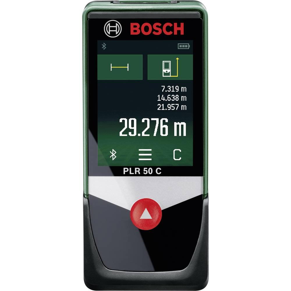 bosch home and garden plr 50 c laser range finder touchscreen bluetooth data from conrad. Black Bedroom Furniture Sets. Home Design Ideas