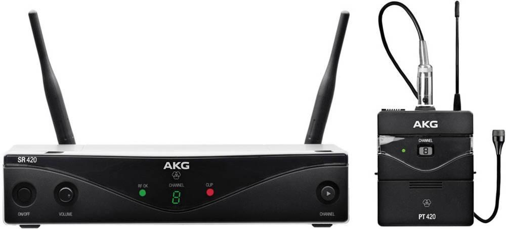 Mikrofon za govor AKG WMS420P brezžičen