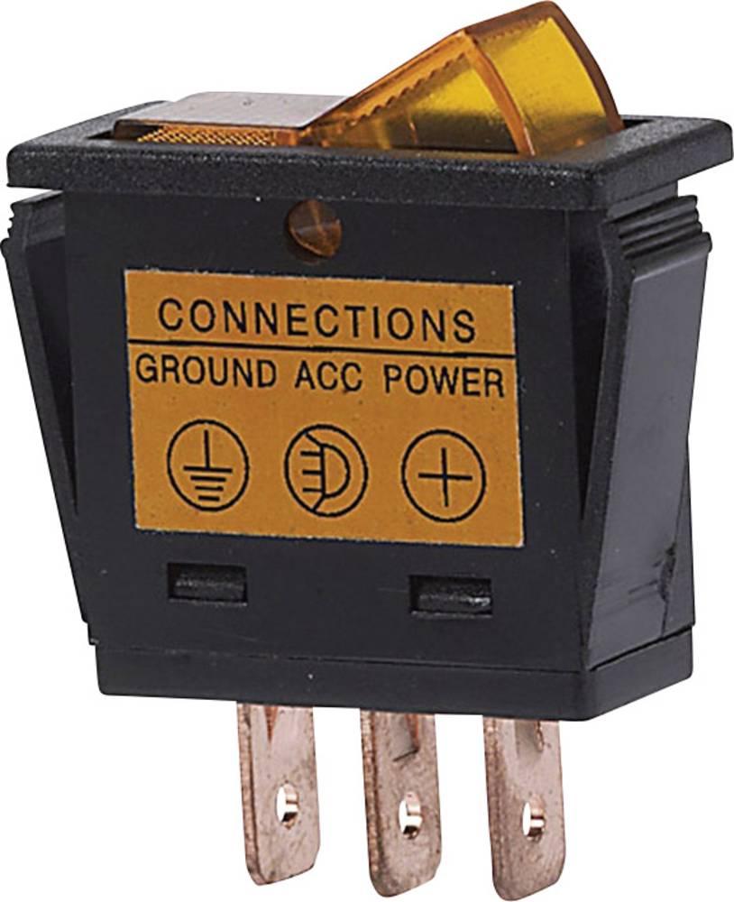 Ozibni prekidač sa svjetlom HP Autozubehör 12 V žuta