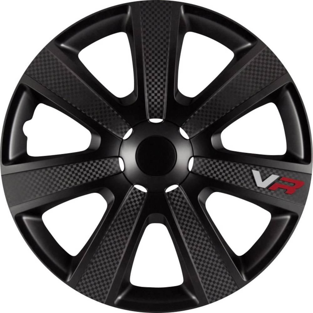 Okrasni pokrovi Portos VR R16 črni (matt) 4 x HP-Avto dodatki