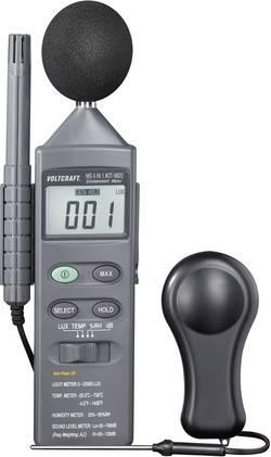 Merilnik temperature VOLTCRAFT DT 8820 -20 do +750 °C vrsta tipala: K multifunkcijski merilnik 4in1 kalibracija narejena po: del