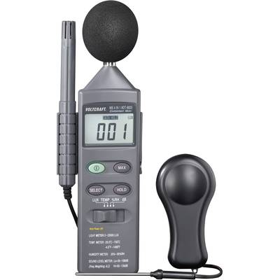VOLTCRAFT DT 8820 Thermometer -20 up to +750 °C Sensor type K 4-in-1 multifunction environmental tester