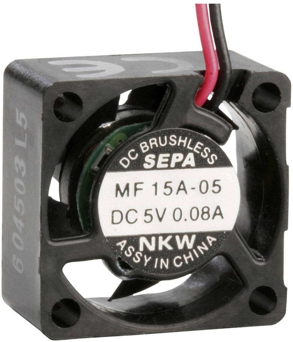 Aksial ventilator 5 V/DC 0.6 m³/h (L x B x H) 15 x 15 x 8 mm SEPA MF_15A05