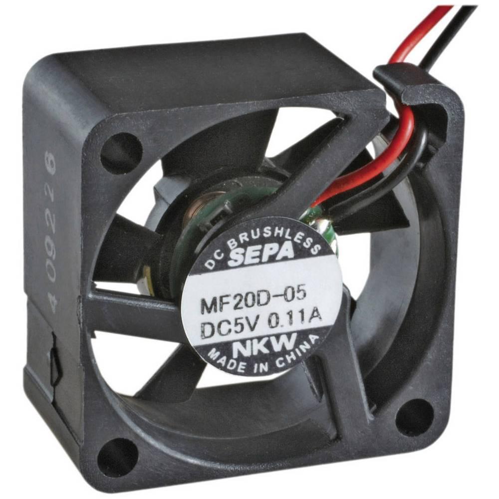 Aksial ventilator 5 V/DC 1.3 m³/h (L x B x H) 20 x 20 x 8 mm SEPA MF_20C05L