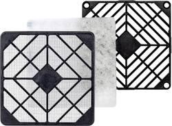 Ventilationsgitter-sæt SEPA LFG40-45 (B x H x T) 46.4 x 6.5 x 46.4 mm Plast 1 stk