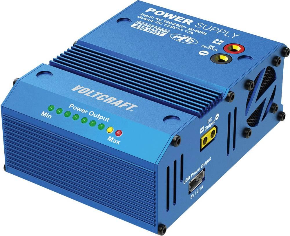 Napajalnik za modelarstvo VOLTCRAFT 100 V/AC, 240 V/AC 17 A