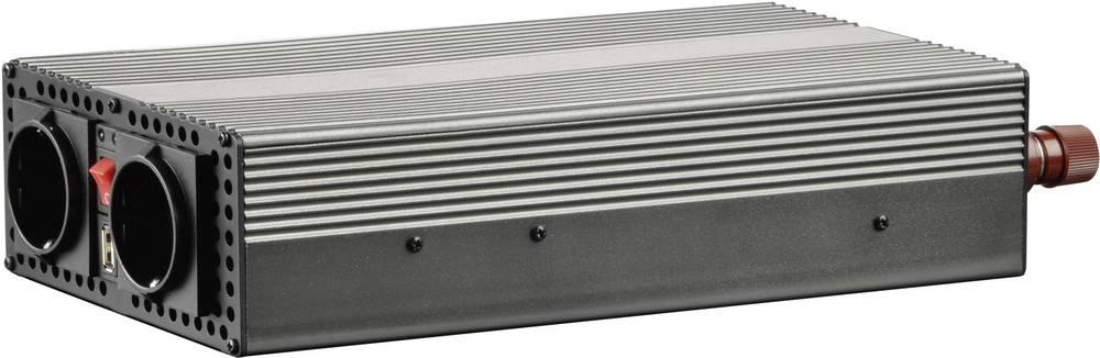 Inverter VOLTCRAFT MSW 1200-24-G 1200 W 24 V/DC 21 - 30 V/DC Skrueklemmer