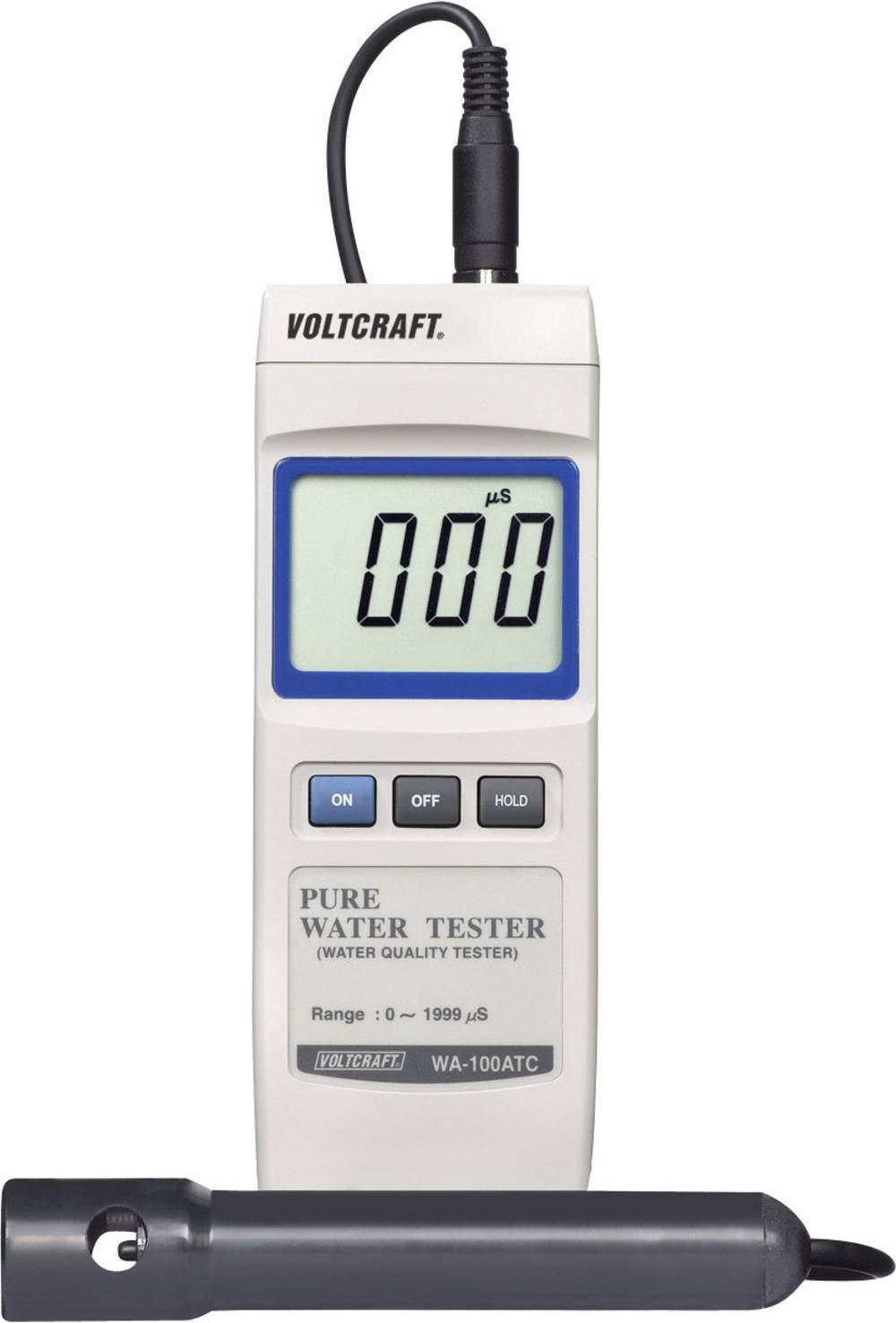 VOLTCRAFT WA-100 ATC programska oprema s shranjevalnikom podatkov kalibriran po ISO