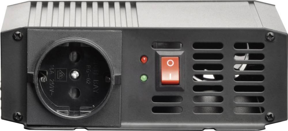 Inverter VOLTCRAFT PSW 300-12-G 300 W 12 V/DC 10,5 - 15 V/DC Skrueklemmer Jordstik