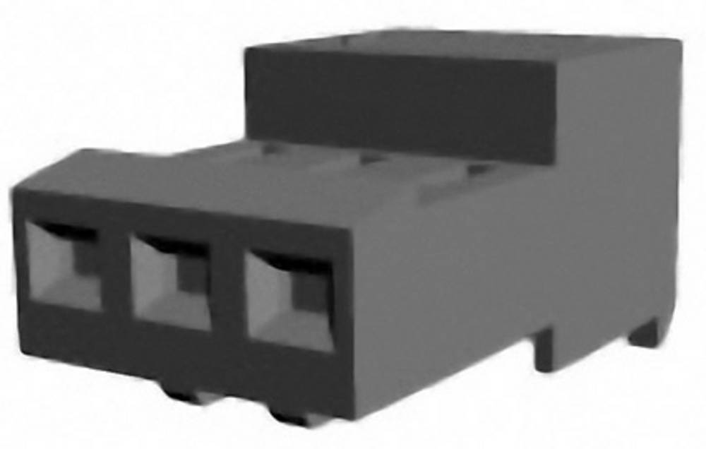 Bøsningsliste (standard) MTA-100 Samlet antal poler 3 TE Connectivity 3-640441-3 1 stk