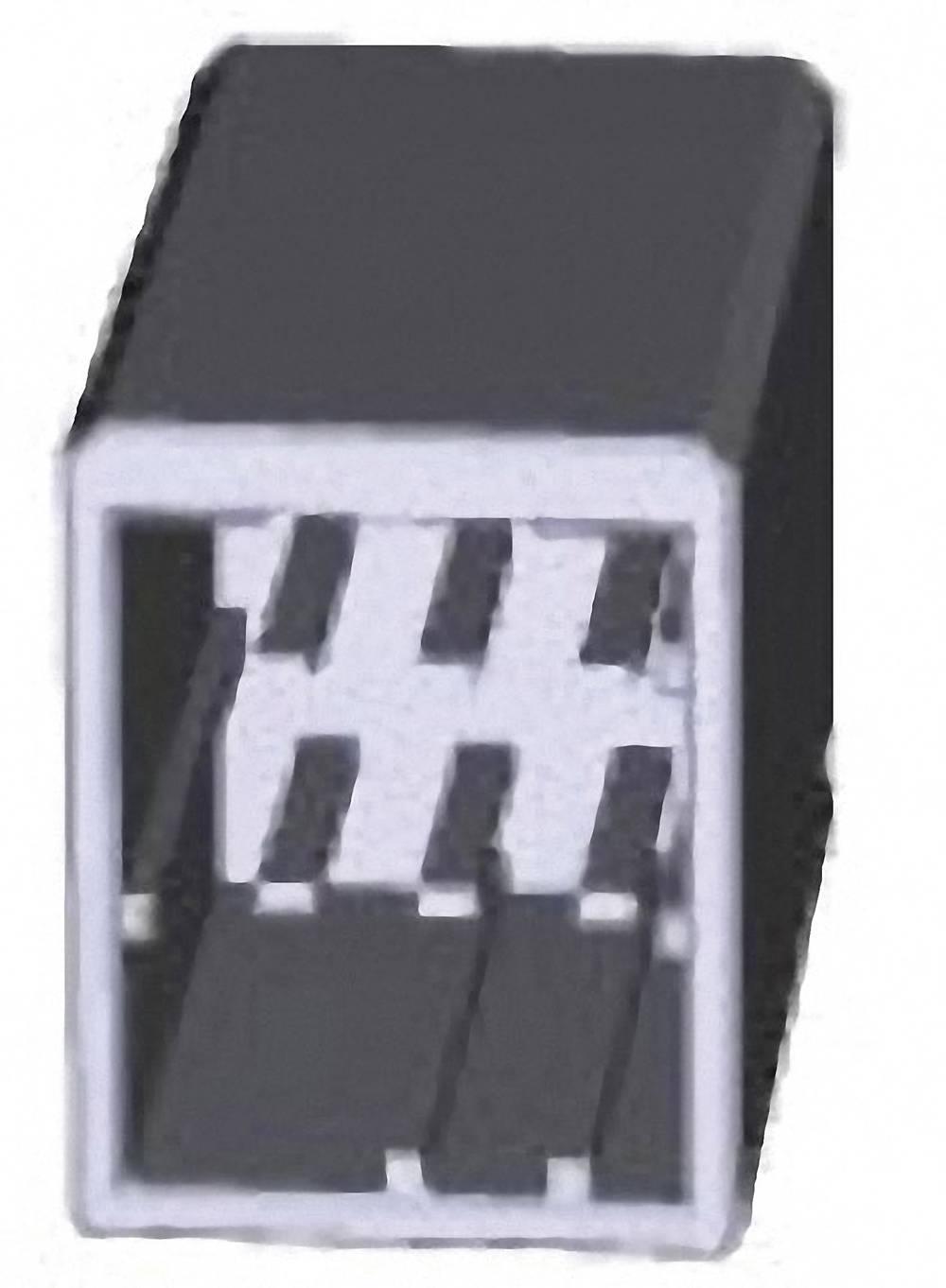 Indbygningsstiftliste (præcision) DYNAMIC 2000 Series Samlet antal poler 6 TE Connectivity 1318124-1 1 stk