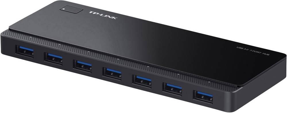Razdelilnik za USB TP-link, 7 vhodni USB 3.0-, črn